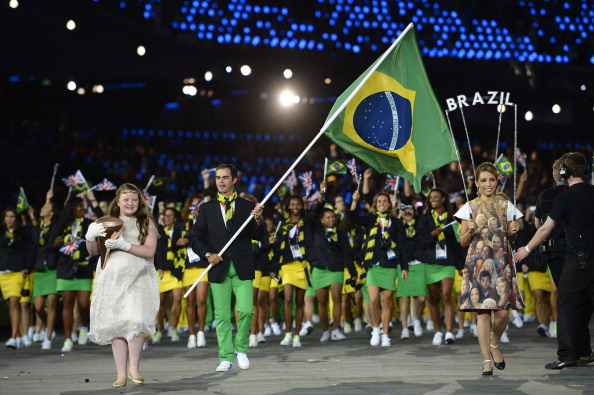 Brazil will perform much better than at previous Games on home turf in Rio, it is hoped ýAFP/Getty Images