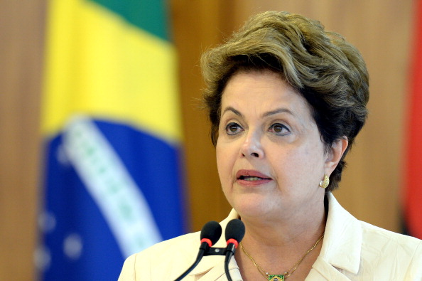 Brazilian President Dilma Rousseff has pledged Rio 2016 will be the focus once the World Cup is over ©AFP/Getty Images