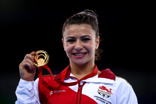 Claudia Fragapane led home more English domination in gymnastics ©Getty Images