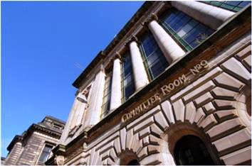 Committee Room 9 in Glasgow city centre will be the location of England House at the Commonwealth Games ©CGE