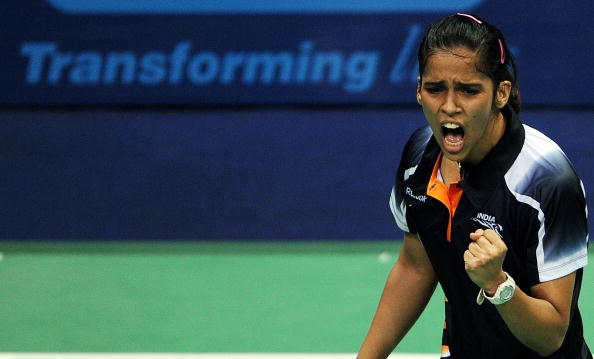 Defending champion Saina Nehwal has withdrawn from her Commonwealth Games badminton title defence due to injury ©AFP/Getty Images