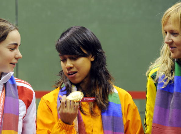 Delhi 2010 squash champion Nicol David will carry the Malaysian flag ©AFP/Getty Images