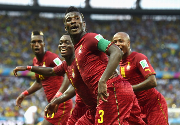 Despite failing to progress from the Group Stage at the FIFA World Cup the Ghanaian football team should feature prominently in the inaugural Sports Excellence Awards ©Getty Images
