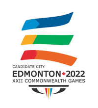 Edmonton 2022 has launched its bid logo and appointed a chairman for its Commonwealth Games bid ©Edmonton 2022