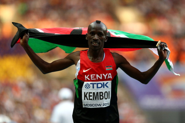 Kenya's team captain Ezekiel Kemboi had led threats that the team would boycott Glasgow 2014 unless they received their allowances ©Getty Images