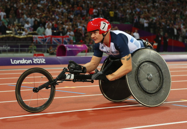 Four-time London 2012 gold medal winner David Weir will be among the largest ever total of Paralympians competing in a Commonwealth Games in Glasgow ©Getty Images