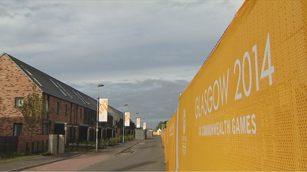 The Commonwealth Games Village for Glasgow 2014 is claiming to be the best in history ©Glasgow 2014