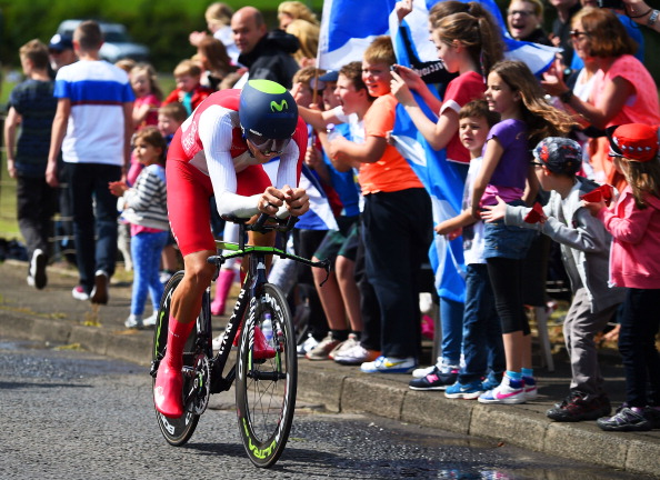 Alex Dowsett en route to time trial victory ©Getty Images