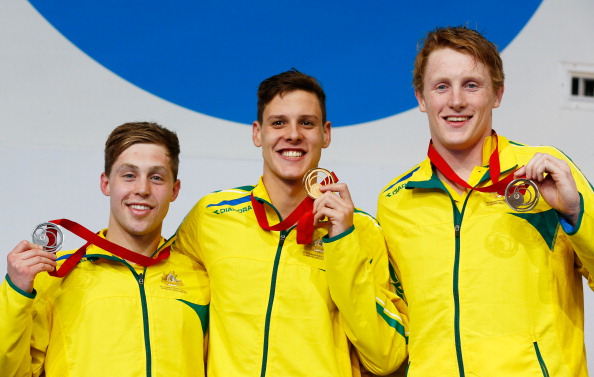 Australia claimed two clean sweeps in the pool at the Tollcross International Swimming Centre ©Getty Images