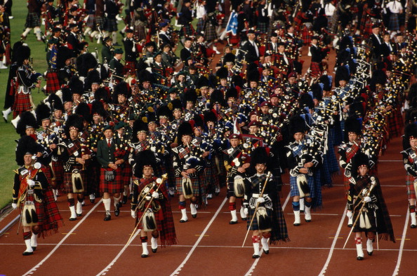Edinburgh 1986 bore striking similarities to the Opening Ceremony in the Scottish capital 16 years earlier ©Getty Images