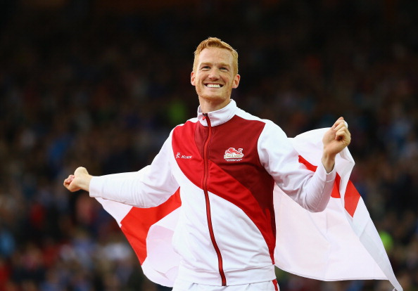 Greg Rutherford sealed a historic gold at Hampden Park tonight ©Getty Images