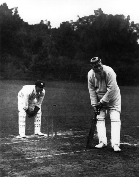 Legendary cricketer WG Grace in action for Gloucestershire ©Hulton Archive/Getty Images