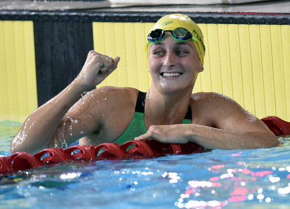 Leiston Pickett won Australian gold in the 50m breaststroke ©AFP/Getty Images