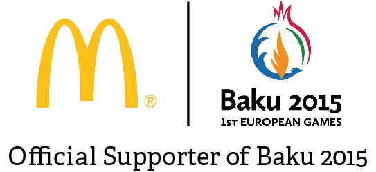 McDonalds has been announced as an official supporter of the Baku 2015 European Games ©Baku 2015