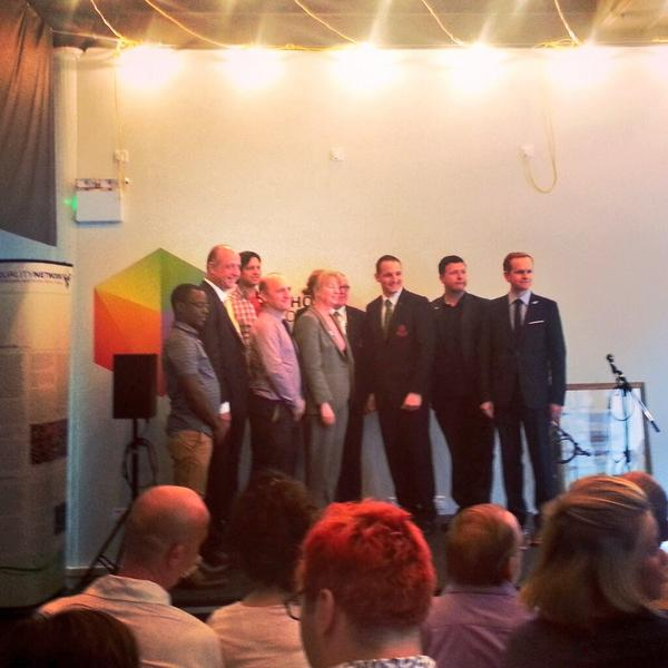 Pride House Glasgow was officially opened today with speakers inclulding Glasgow 2014 chief executive David Grevemberg and Cabinet secretary for Commonwealth Games Shona Robison ©Twitter