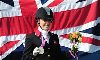 Sophie Wells is one of five Paralympic medal winners in the British squad for the Para-Dressage World Championships ©Getty Images