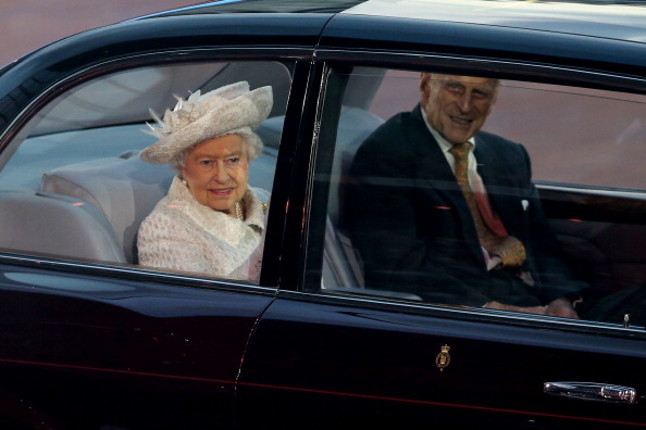 The Queen enters Celtic Park ©Getty Images