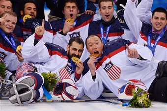 The United States has announced it's ice sledge hockey squad for the 2014-2015 season ©Getty Images