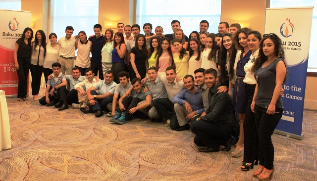 The first 45 participants on the Graduate Excellence Programme at the Baku 2015 European Games Academy are set to begin training ©Baku 2015