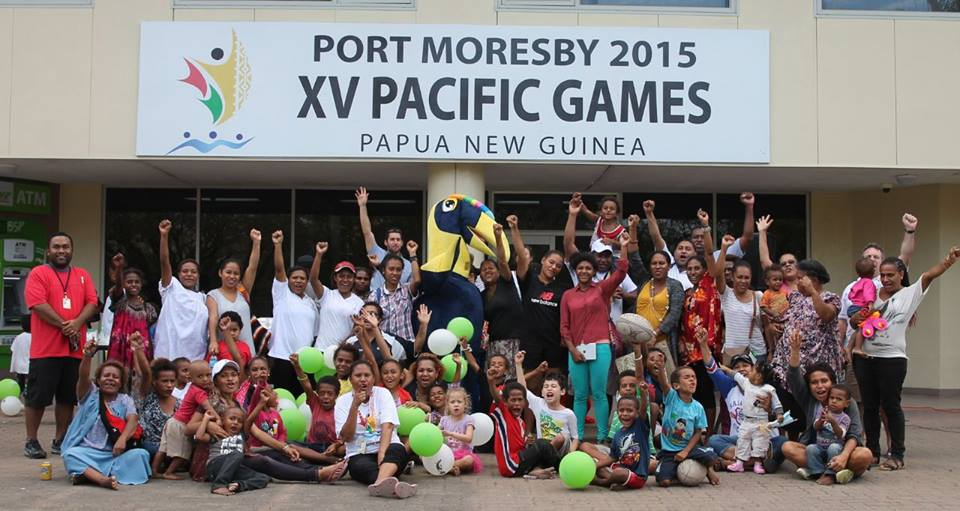 Tura the Kokomo is spreading the message of the 2015 Pacific Games ©Papua New Guinea 2015