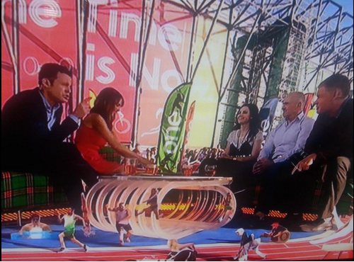 insidethegames historian Philip Barker on the BBC One Show earlier ©ITG