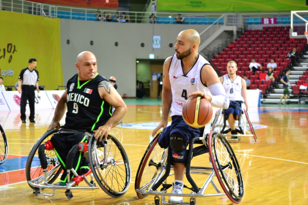 Great Britain lead their group with three wins in as many days at the World Wheelchair Basketball Championship ©British Wheelchair Basketball
