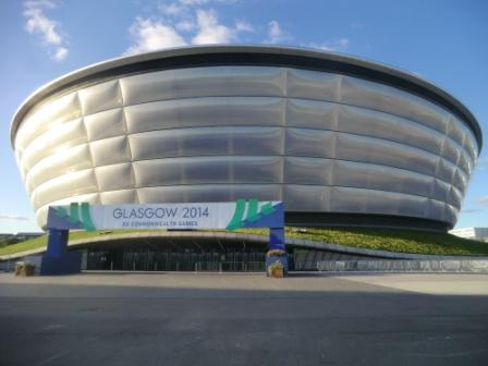 Gymnastics and netball finals will take place in the Hydro Arena ©Philip Barker