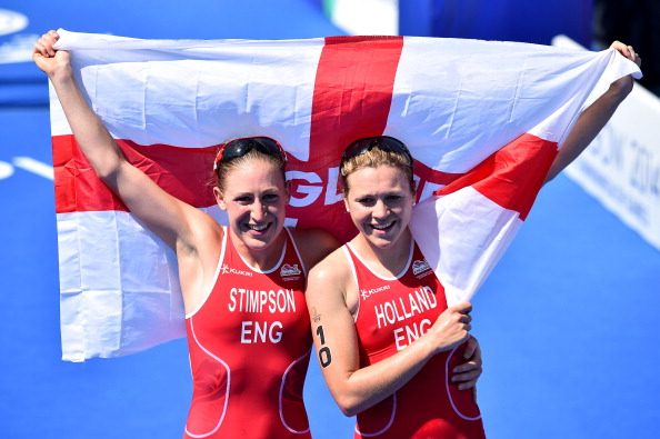 It was almost the perfect start for the England team at Glasgow 2014 ©AFP/Getty Images