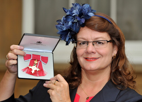 Jackie Brock-Doyle was awarded an OBE for her outstanding work on London 2012 ©Getty Images