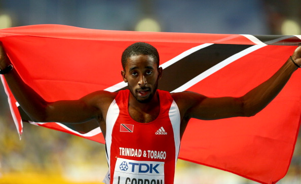 World champion 400m hurdler Jehue Gordon is part of the Trinidad and Tobago athletics squad for Glasgow 2014 ©Getty Images