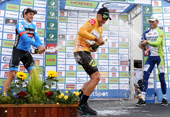 Jonathan Tiernan-Locke had briefly been the first Tour of Britain winner since 1993 ©Getty Images