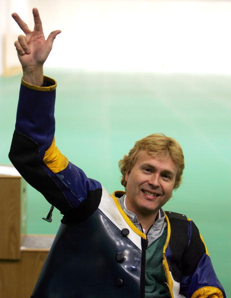 Jonas Jacobsson has claimed his 18th world shooting title ©Getty Images