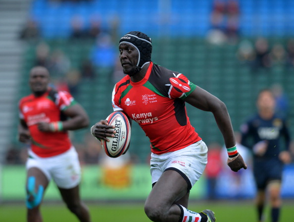 Kenya is on the verge of qualifying for the Rugby World Cup for the first time ©Getty Images