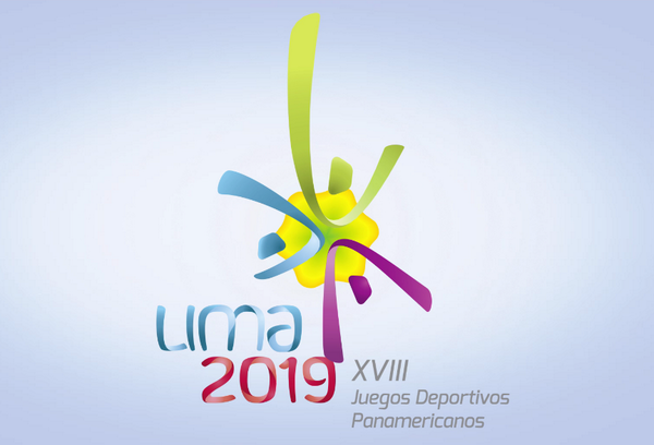 Lima's logo for the 2019 Pan American Games in inspired by the Amancaes flower ©Lima 2019