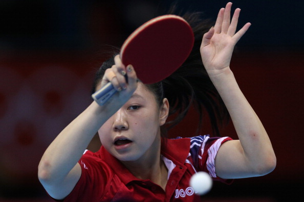 London 2012 competitor Lily Zhang will head to Nanjing next month to take part in the table tennis competition at the Youth Olympics ©Getty Images