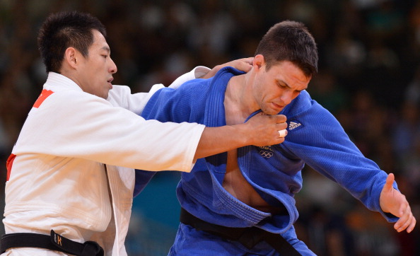 London 2012 judoka James Austin has been forced to withdraw from the Scottish team for Sochi 2014 due to injury ©AFP/Getty Images