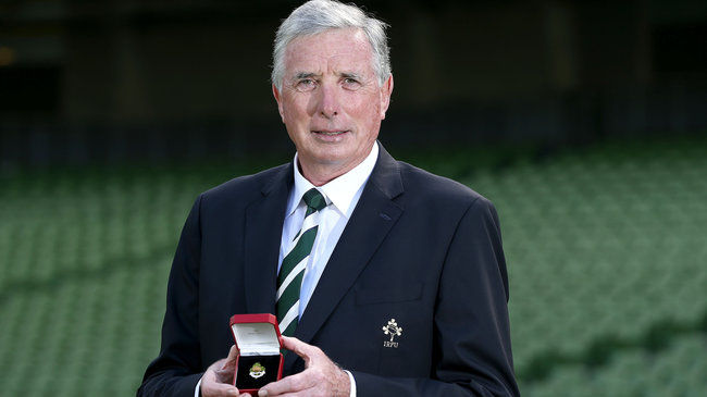 Louis Magee has been elected as the 127th President of the Irish Rugby Football Union ©IRFU