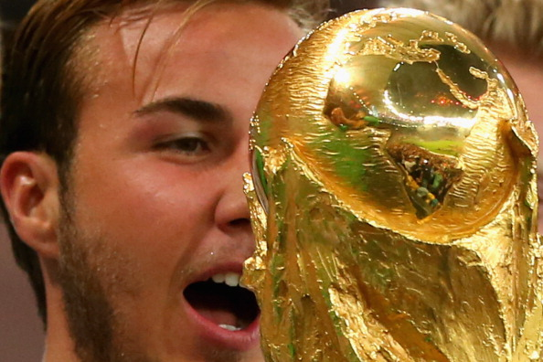 Mario Götze scored the winner for Germany to win the country its first World Cup since 1990 ©FIFA via Getty Images