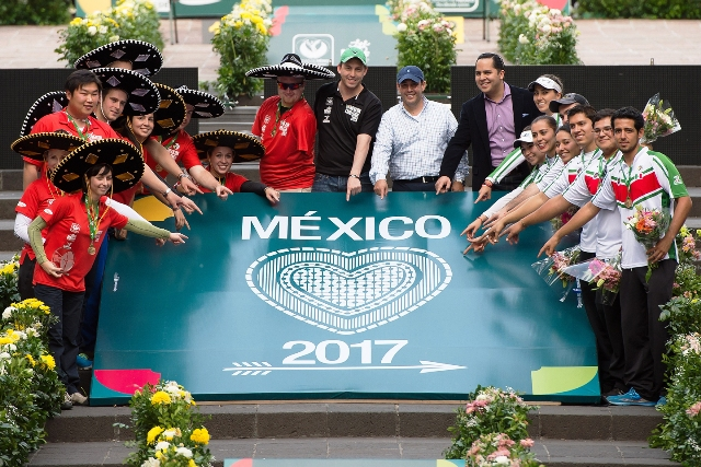 Mexico City is celebrating after being awarded the 2015 World Cup Final and the 2017 World Championships ©Moveo Labs