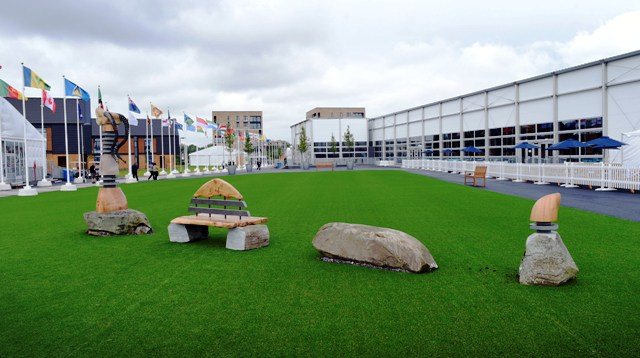 Nessie the Loch Ness Monster is set to welcome athletes and team officials to the Glasgow 2014 Athletes' Village ©Glasgow 2014