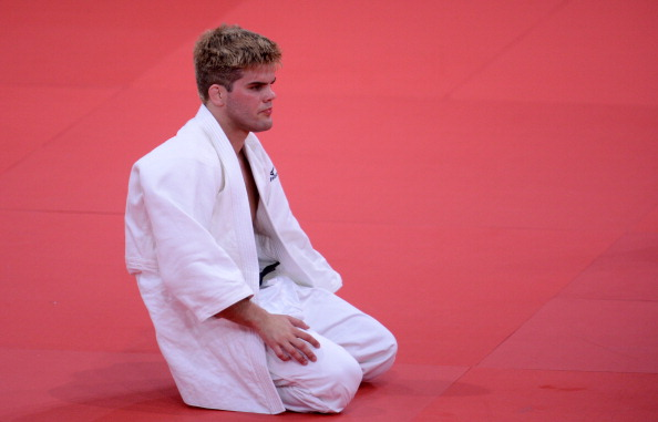 Another judoka, American Nicholas Delpopolo, was sent home from London 2012 after testing positive for cannabis ©AFP/Getty Images