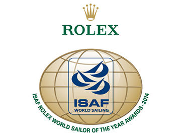 Nominations are open for the 2014 ISAF Rolex World Sailor of the Year Awards ©ISAF