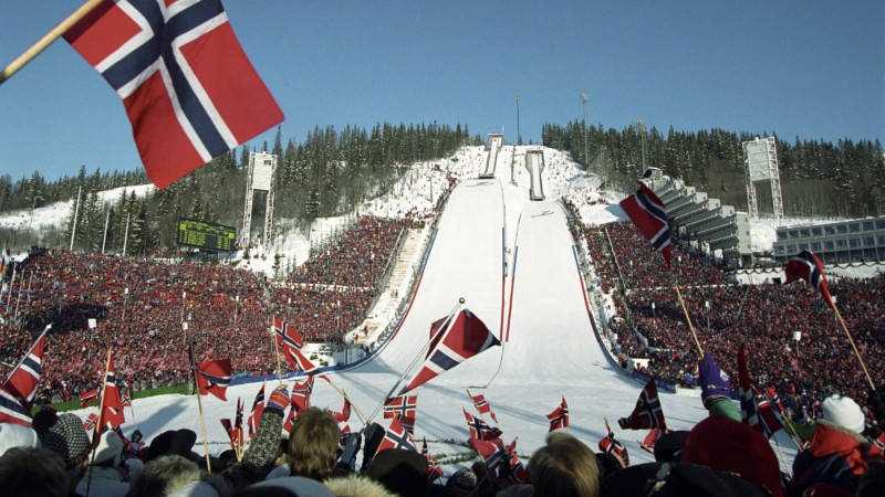 Oslo 2022 is pinning its hopes on the Norwegians support of winter sport ©Oslo 2022