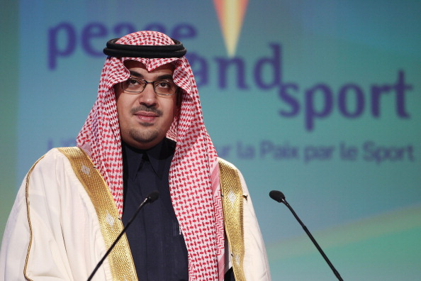 Prince Nawaf Faisal Fahd Abdulaziz has resigned as President of the Saudi Arabian Olympic Committee ©Getty Images