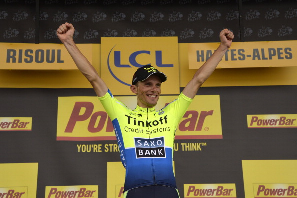 Rafal Majka of Poland won stage 14 of the Tour de France ©AFP/Getty Images