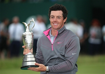 Rory McIlroy claimed his first Open Championship with victory at Royal Liverpool today ©Getty Images