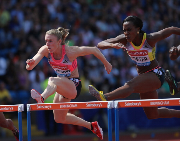 Sally Pearson will be going head to head with the likes of Tiffany Porter of England in Glasgow ©Getty Images