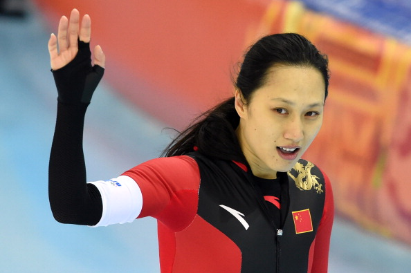 Sochi 2014 Olympic champion Zhang Hong has come out in support of Beijing 2022 ©AFP/Getty Images