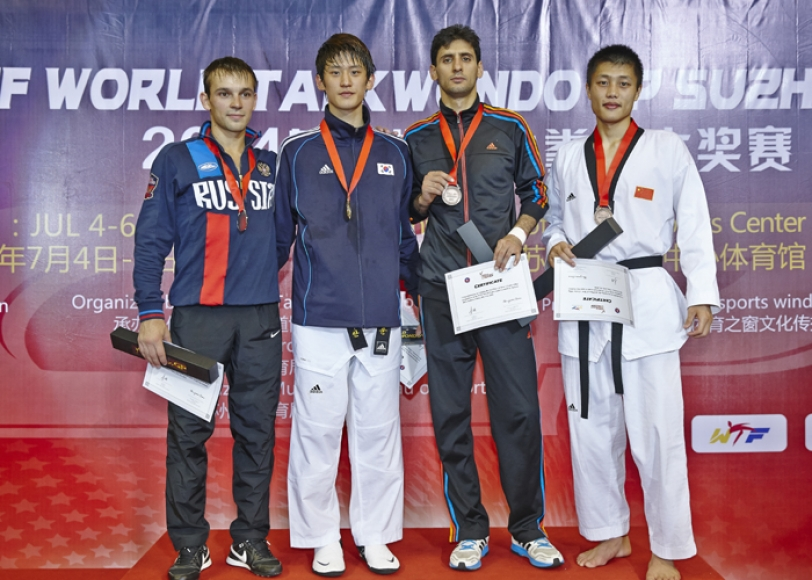 South Korea's London 2012 silver medal winner Dae-hoon Lee won gold on the final day of action in Suzhou ©WTF