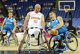 Spain are one of three teams still undefeated at this year's World Wheelchair Basketball Championships ©AFP/Getty Images